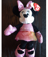 "Ty Disney Minnie Mouse - Ballerina Sparkle  8"" Plush - $8.00"