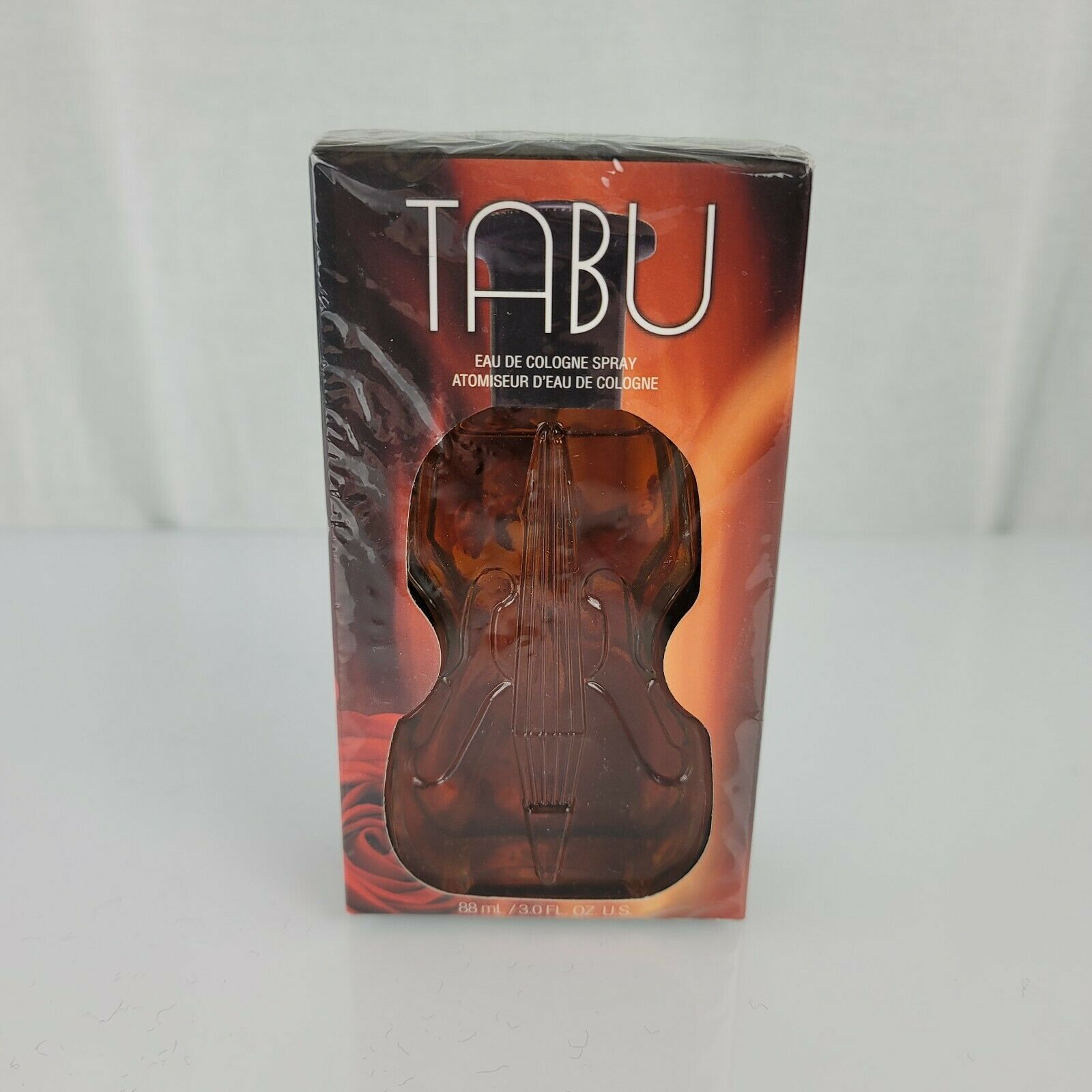 Primary image for Vintage Old Tabu Dana Eau De Cologne Spray 88 ml 3 fl oz Glass Violin Bottle NEW