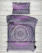 Indian Duvet Doona Cover Reversible Ombre Mandala Hippie Boho Quilt Cove... - $30.72