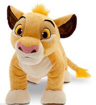 "Disney Store Simba Large Plush Toy Lion King 18""  New  - $139.95"