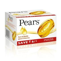3 BARS! Pears 125gm  Gentle Care Transparent IM... - $15.99