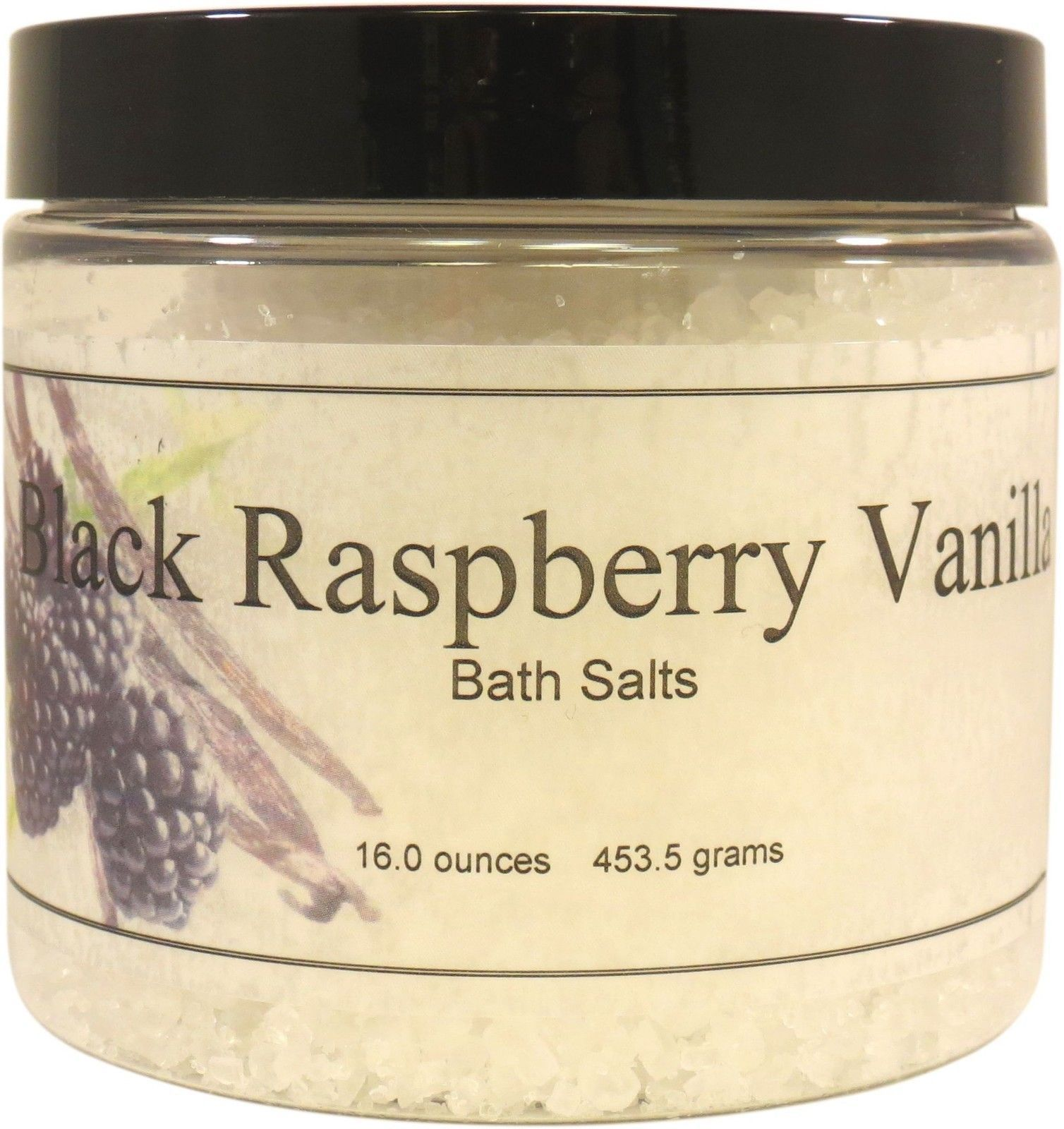 Black Raspberry Vanilla Bath Salts