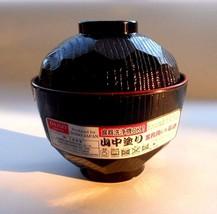 1x New Daiso Japanese MISO Soup Bowl YAMANAKA NURI Made in Japan FREE SH... - $7.98