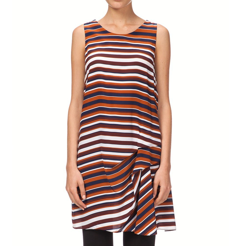Kenzo Women's Breton Stripes Dress F552RO305527-88 Multi Color, 38 (FR) / 6 (US)