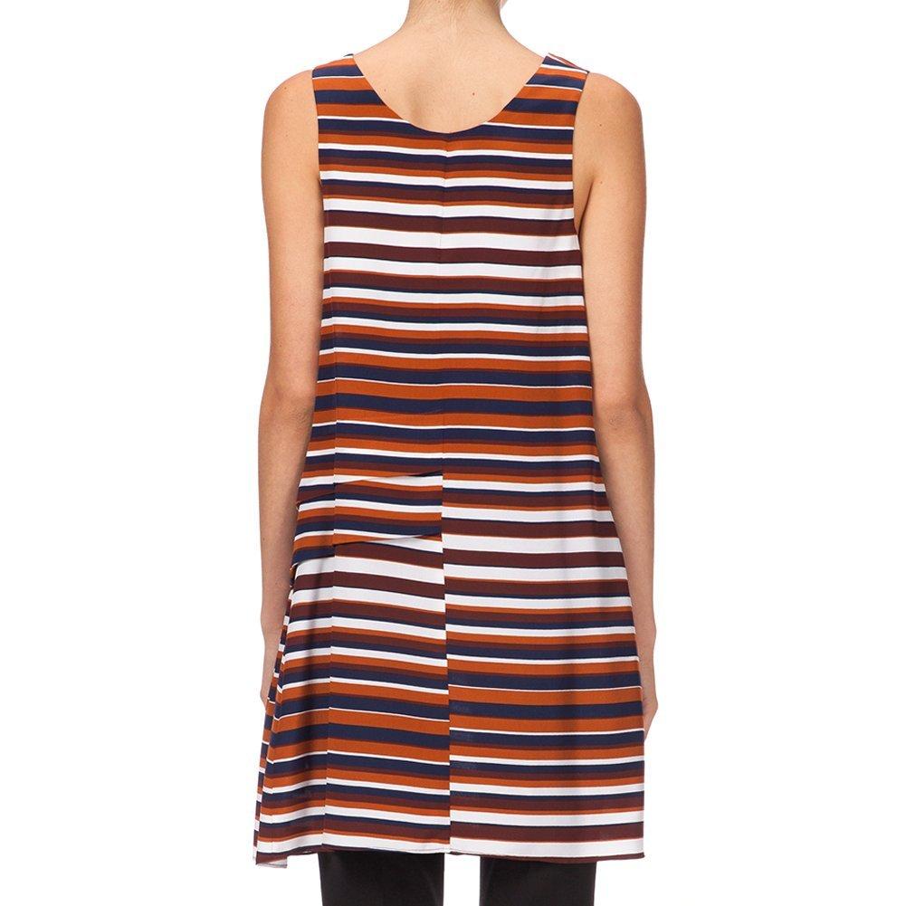 Kenzo Women's Breton Stripes Dress F552RO305527-88 Multi Color, 38 (FR) / 6 (US)