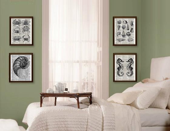 Antique Florentine KEY Ornate Black and White Art Beautiful Upcycled Vintage Dic