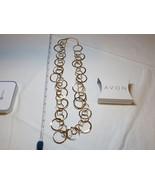 "Ladies Womens Avon Extensive Links Long Necklace 30"" +3"" ext F3858951 NIP;; - $29.69"