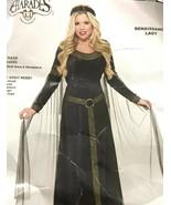 Renaissance Lady Medieval Princess Dress Halloween Small Adult Costume C... - $49.49