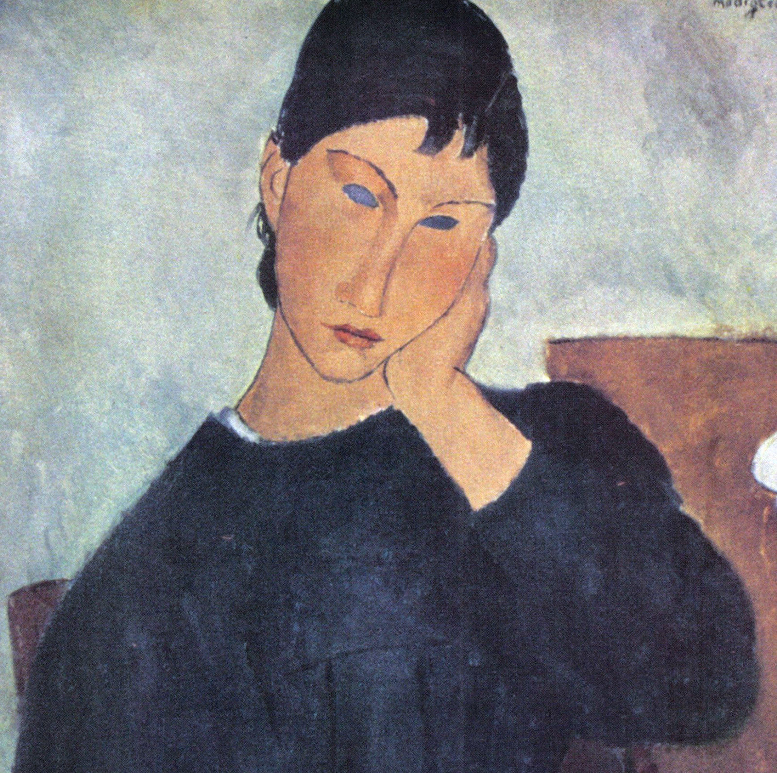 MODIGLIANI 1935 LITHO PRINT w/COA. invest £ Amedeo Modigliani Art VERY RARE ART