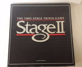 Stage II The Two Stage Trivia Game - $15.35