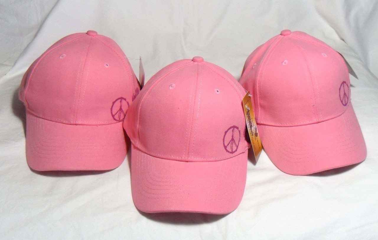Youth Army Pink (3 Pack) OFFICIALLY LICENSED Military Hat baseball cap