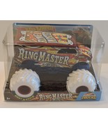2018 HOT WHEELS MONSTER TRUCK GIANT WHEELS COLLECTION - RING MASTER 1:24 - $24.99