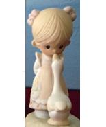 Make A Joyful Noise Girl and Goose Precious Moments E-1374G Figurine MIB - $39.99