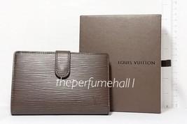 Louis Vuitton EPI Leather Bifold Coin Wallet Brown NIB Store Receipt - $692.99