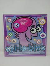 Syl-La-Bles Game Cadaco Educational Board Game NEW Syllables  - $29.69