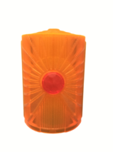 PLAYMOBIL replacement part NEW translucent orange jeweled piece Rock Tem... - $8.00