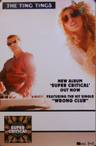 TING TINGS, SUPER CRITICAL POSTER (E4) - $8.59