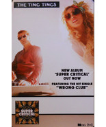 TING TINGS, SUPER CRITICAL POSTER (E4) - £6.58 GBP