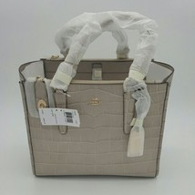 NWT COACH Embossed Croc Crosby Carryall 33529 LIC2J LI/Grey Birch MSRP $... - $346.49