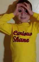 Curious George, Your Child's Name, Trendy, Humor, Youth Shirt - $15.00