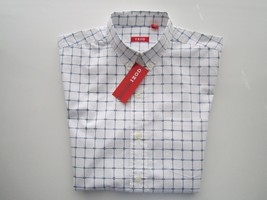 IZOD Plaids Button-Down Short Sleeve Men casual Shirt S SMALL MSRP $50 P... - $24.69