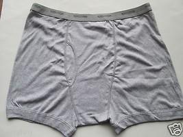 NORDSTROM 2-Pack MEN'S SHOP Supima Cotton Trunk Boxer Gray XXL (44-46) U... - $13.95