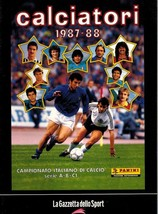 Calciatori 1987-88 - Reprint Album - Gazzetta Sport - $9.00