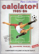 Calciatori 1985-86 - Reprint Album - Unita' - $5.00