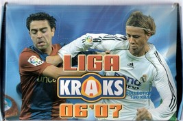 Liga 2006-2007 Kraks Box 40 Packs Panini - $40.00