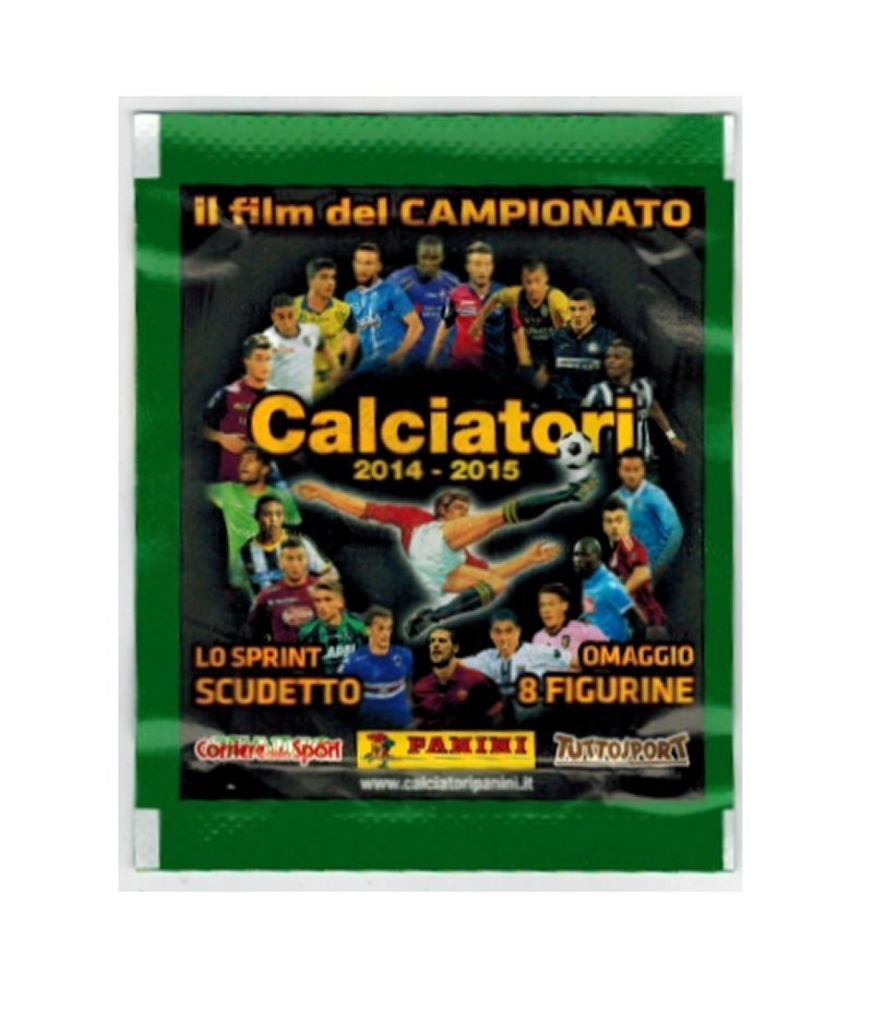 Calciatori 2014-2015 Sprint Scudetto Panini Pack V9-16