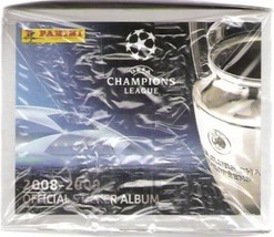 Champions League 2008-2009 Box 50 Packs Stickers Panini - $18.00