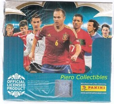Euro 2012 Adrenalyn XL Cards Box 50 Packs Panini - $33.00