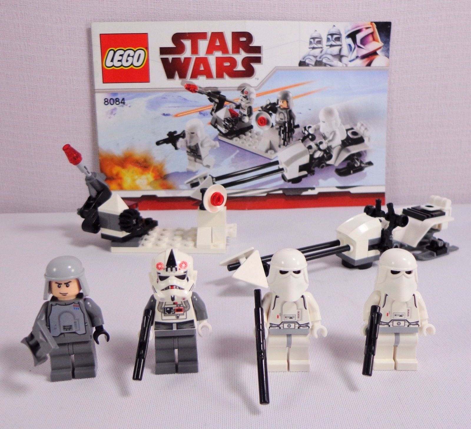 Lego Star Wars 8084 Snowtrooper Battle Pack And 50 Similar Items