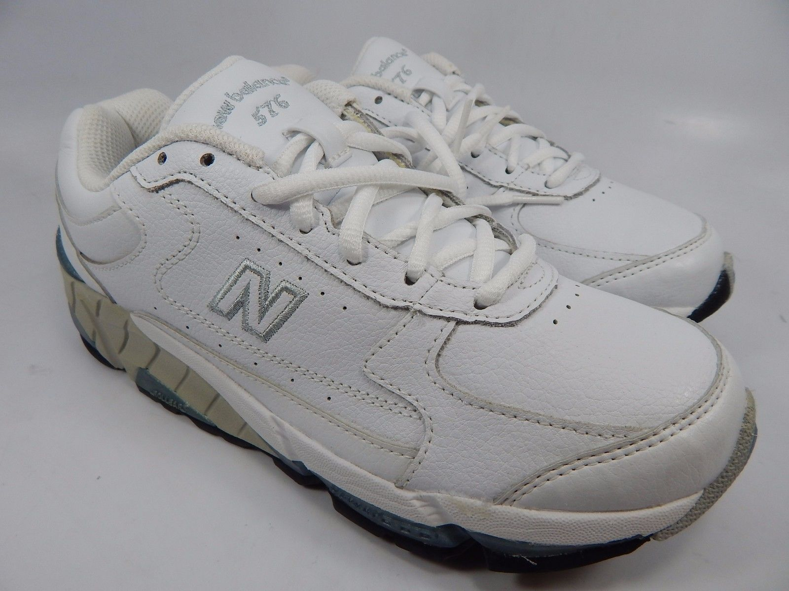 New Balance 576 Women's Walking Shoes Size US 6.5 M (B) EU 37 White WW576WT
