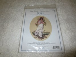 Design Connection PINKIE from SIR LAWRENCE ART Counted Cross Stitch SEAL... - $14.85