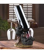 Wine Bottle Holder - Black Bear - $24.95