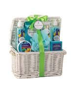 Bath Set - Blueberry & Sunflower - White Basket - $27.95
