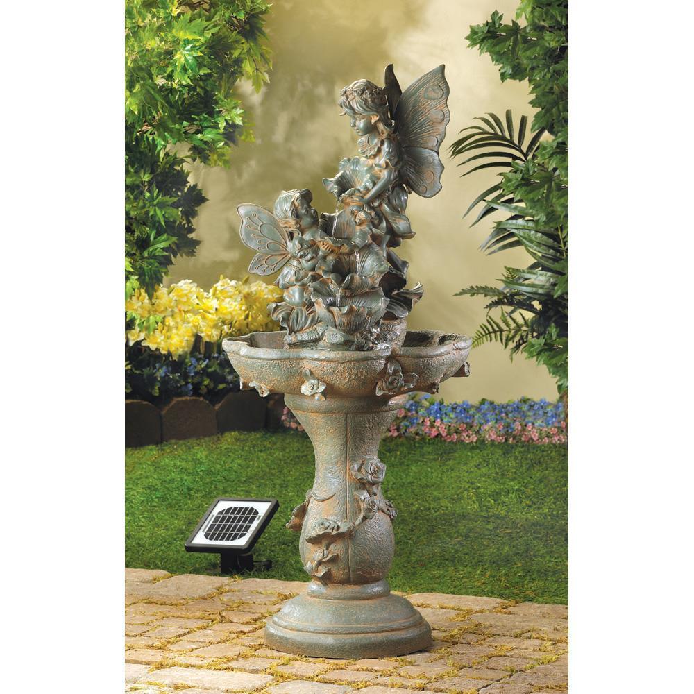 Water Fountain - Outdoor - Fairy - Solar