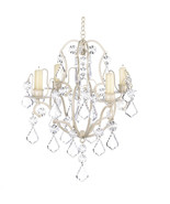 14947 Candle Chandelier - Ivory Baroque - $24.95