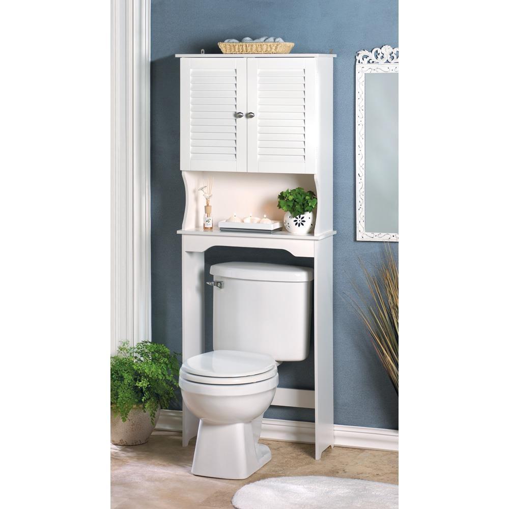 Cabinet - Space Saver - Bathroom - Nantucket