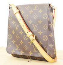 Authentic LOUIS VUITTON Musette Salsa Monogram Cross Body Shoulder Bag #32983 - $679.00