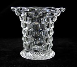 Fostoria American Vintage Flared Top Vase 5 Inch Depression Glass Elegant - $49.99