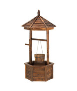 Planter - Rustic Wishing Well - $114.95