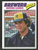 Milwaukee Brewers Bernie Carbo 1977 Topps Baseball Card 159 vg - $0.50