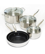 Cookware - Stainless Steel - 8-Pieces Set - $69.95