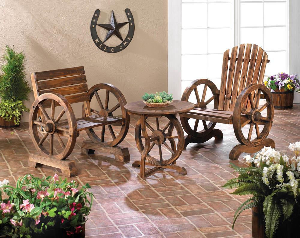 Patio Chair - Wagon Wheel
