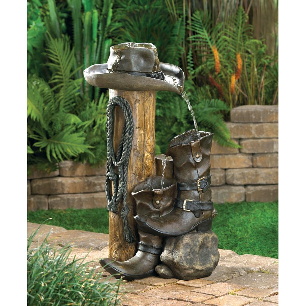 Water Fountain - Outdoor - Wild Western