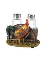 Salt & Pepper Shaker Set - Country Farm Rooster - $17.95