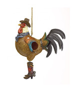 Birdhouse - Cowboy Rooster - $19.95