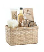 Bath Set - Eco-nomy Deluxe - Tan Basket - $19.95